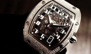 Richard Mille NEW RM 67-01 Extra Flat Automatic White Gold Full Set Diamond Watch