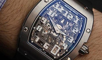Richard Mille NEW RM 67-01 Titanium Automatic Extra Flat Mens Watch