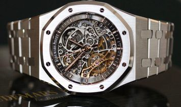 Audemars Piguet NEW Royal Oak Openworked Steel 15407ST.OO.1220ST.01