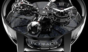 Jacob & Co. 捷克豹 [NEW] Astronomia Black Ceramic Black Movement AT100.95.KK.SD.B