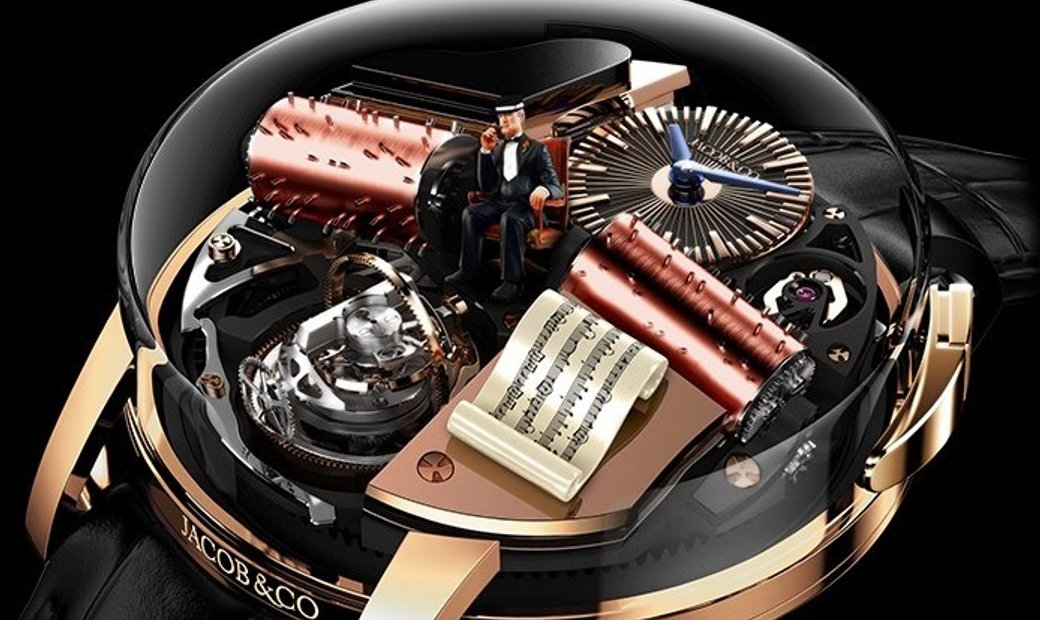 Jacob & Co. 捷克豹 NEW & LIMITED 18 PIECE Opera By Jacob & Co. Godfather Musical Watch