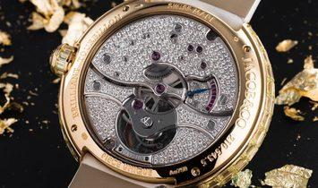 Jacob & Co. NEW Brilliant Flying Tourbillon Yellow Diamonds BT543.50.YD.UA.B