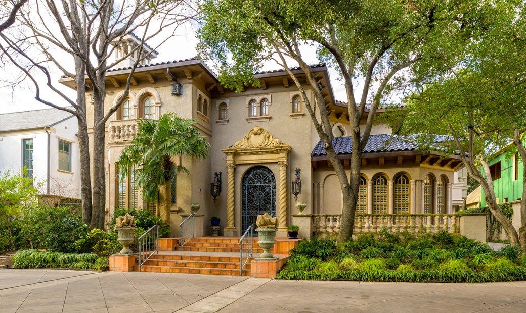 Highland Park Spanish Mediterranean Home