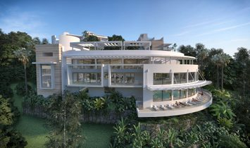 Modern Penthouse with Panoramic Sea and Mountain Views in Marbella