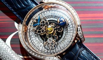 Jacob & Co. 捷克豹 NEW & LTD 18 PC Astronomia Solar Full Baguette AS900.40.BD.BD.A (Retail:CHF 780'000)