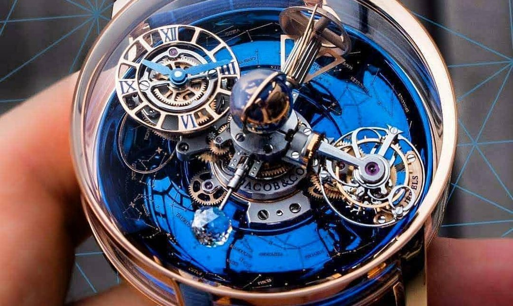 Jacob & Co. [NEW] Astronomia Sky Tourbillon AT110.40.AA.WD.A
