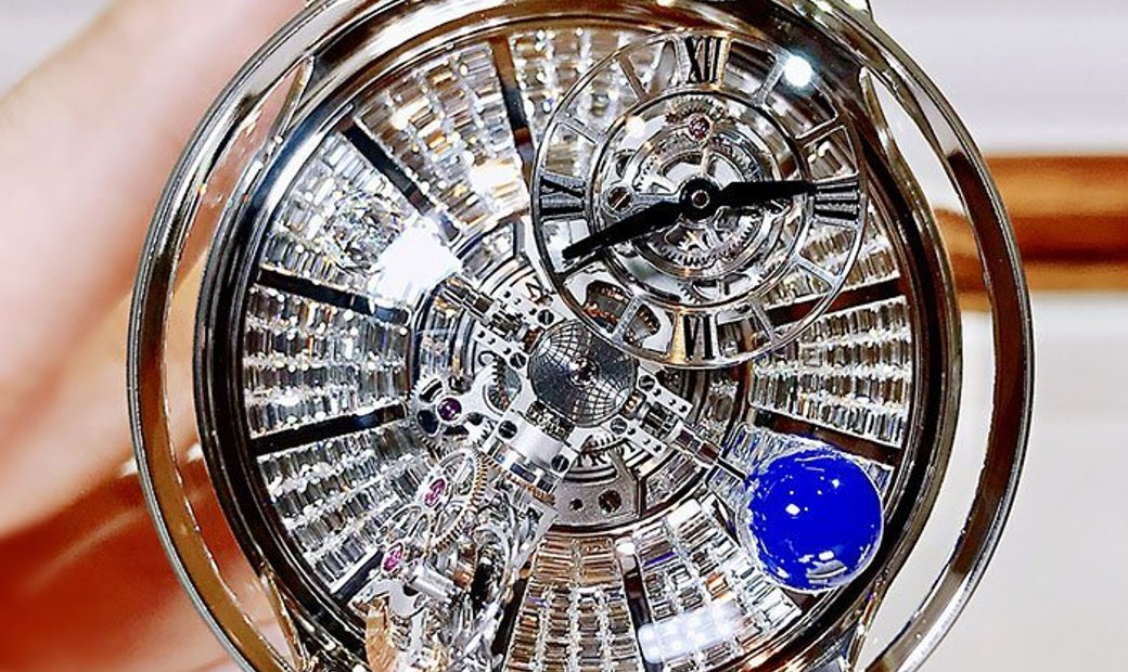Jacob & Co. NEW & LTD 18 PC Astronomia Tourbillon Baguette AT800.30.BD.BD.B (Retail:CHF 1'000'000)