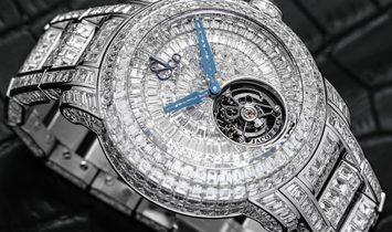 Jacob & Co. 捷克豹 [NEW] Caviar Tourbillon Diamond Bracelet CV201.30.BD.BD.A30BA
