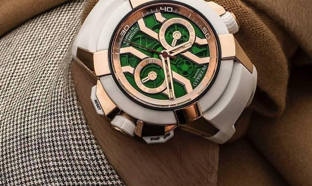 JACOB & CO. 捷克豹 [NEW] EPIC-X CHRONO ROSE GOLD SATINED CASE EC312.42.SB.GN.A