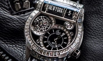 JACOB & CO. 捷克豹 [NEW] EPIC SF24 TOURBILLON BAGUETTE ES802.30.BD.BD.A (Retail:HK$2,904,000)