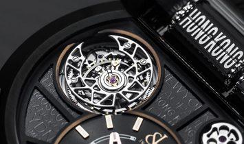 Jacob & Co. 捷克豹 NEW EPIC 24 Tourbillon Titanium Automatic ES102.24.NS.LC.A (Retail:HK$1,540,000)