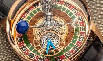 Jacob & Co. 捷克豹 [NEW] Astronomia Gambler Tourbillon AT150.40.RO.SD.A