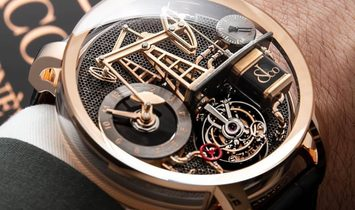 Jacob & Co. 捷克豹 [NEW] Oil Pump Tourbillon OI100.40.AA.AA.A (Retail:CHF 380'000)