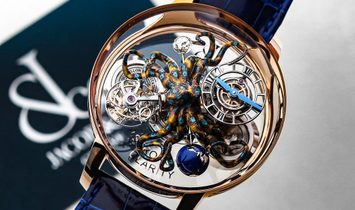 Jacob & Co. 捷克豹 [NEW] Astronomia Octopus AT120.40.OU.SD.B
