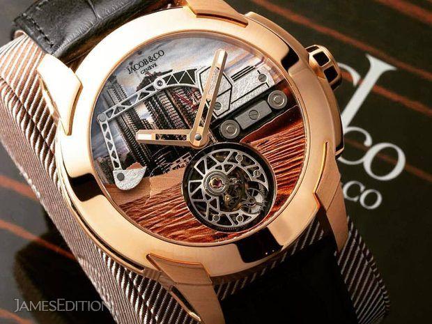 Jacob & Co. 捷克豹 [NEW] Pioneer Tourbillon Rose Gold PI422.... (10496014)