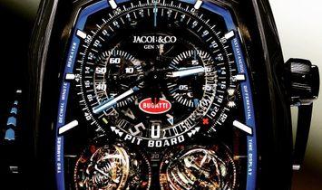 Jacob & Co. 捷克豹 [NEW] Twin Turbo Furious Bugatti TT200.21.AA.AA.A (Retail:HK$4,620,000)