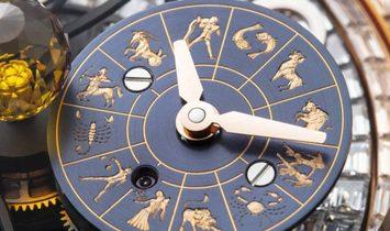 Jacob & Co. 捷克豹 NEW Astronomia Solar Baguette Jewellery Planets Zodiac AS910.40.BD.BD.A