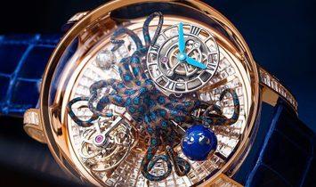 Jacob & Co. 捷克豹 [NEW] Astronomia Octopus Baguette AT802.40.BD.UA.A
