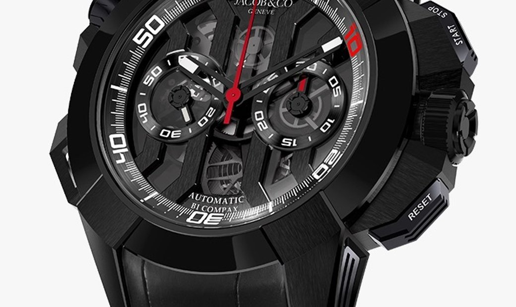 JACOB & CO. 捷克豹 [NEW] EPIC-X CHRONO LUIS FIGO EC311.21.SD.BF.A