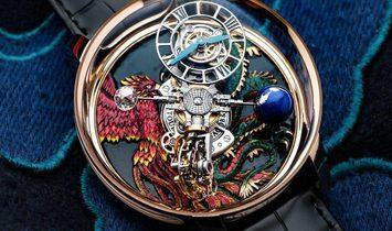 Jacob & Co 捷克豹 [NEW] Astronomia Dragon & Phoenix AT100.40.AC.UG.B