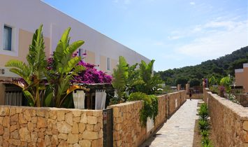 Stunning Front Line Townhouse In Cala Tarida For Sale In Ibiza