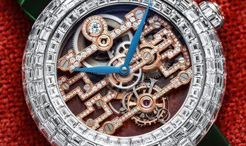 Jacob & Co. 捷克豹 NEW & UNIQUE Brilliant Art Deco D-Flawless BT545.30.BD.RP.A (Retail:CHF 1'000'000)