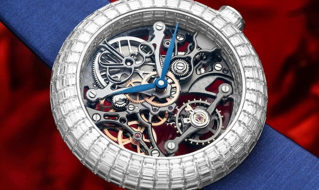 Jacob & Co. NEW & LIMITED Brilliant Skeleton Baguette BS533.30.BD.BB.A (Retail:CHF 260'000)