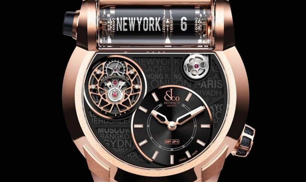 Jacob & Co. 捷克豹 [NEW] Epic SF24 Rose Gold Tourbillon ES102.40.NS.LC.A