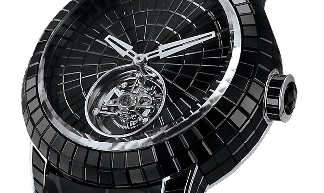 Jacob & Co. 捷克豹 [NEW] Black Caviar Tourbillon CV201.30.BS.BS.B (Retail:HK$4,008,900)