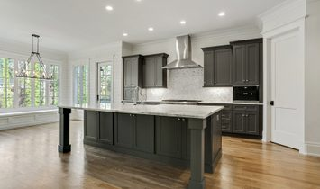 European Inspired Traditional New Construction