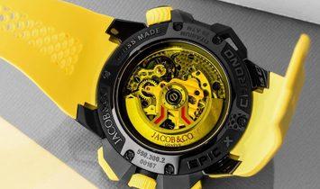 Jacob & Co. 捷克豹 NEW EPIC-X Chrono Yellow EC313.21.SB.BV.D (Retail:HK$210,000)