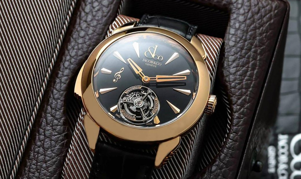 Jacob & Co. 捷克豹 [NEW] Palatial Flying Tourbillon Minute Repeater PT500.40.NS.MK.A