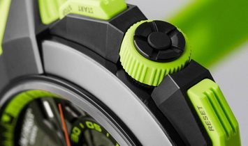 Jacob & Co. 捷克豹 NEW EPIC-X Chrono Green EC313.21.SB.BG.C (Retail:HK$210,000)