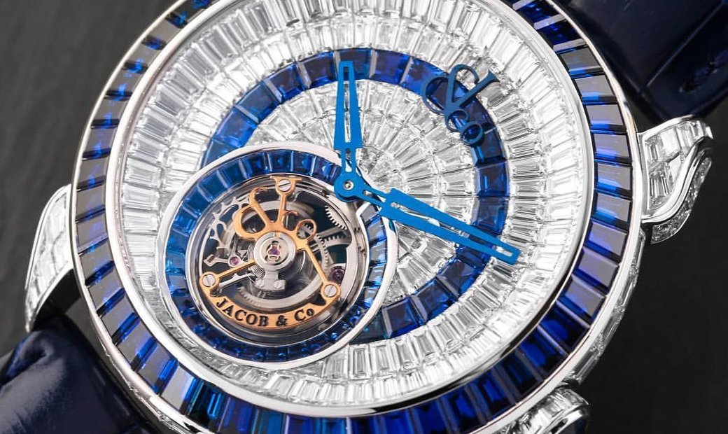 Jacob & Co. 捷克豹 NEW & LIMITED 18 PIECE Palatial Opera Flying Tourbillon PO820.30.BD.MB.A