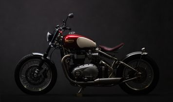 "Triumph Bobber 1200  ""Red Candy's"""