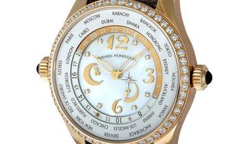 Girard Perregaux Girard Perregaux Rose Gold World Time Chronograph Watch 49860D52A