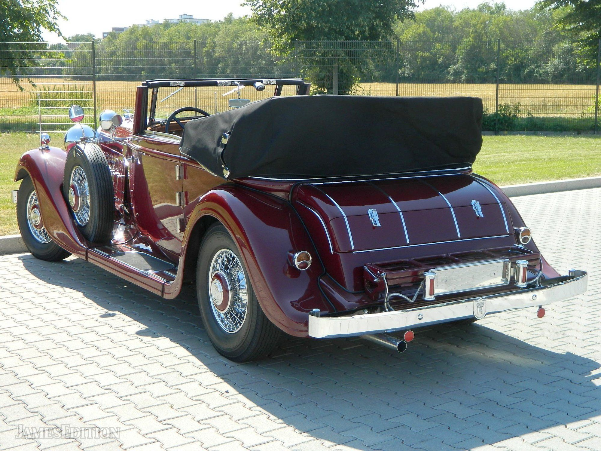 1932 Horch 780 Sport-Cabriolet In Bergheim (Cologne
