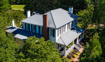 Historic Home Situated On Over Three Acres!