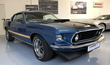 Ford Mustang Mach 1, S-Code, manual, super condition, AC