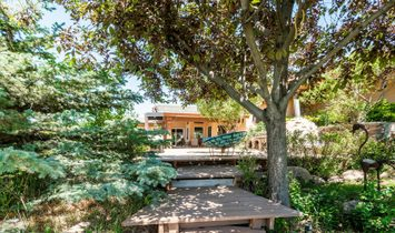 Equestrian Estate Engulfed In Silvercreek's Natural Enclave