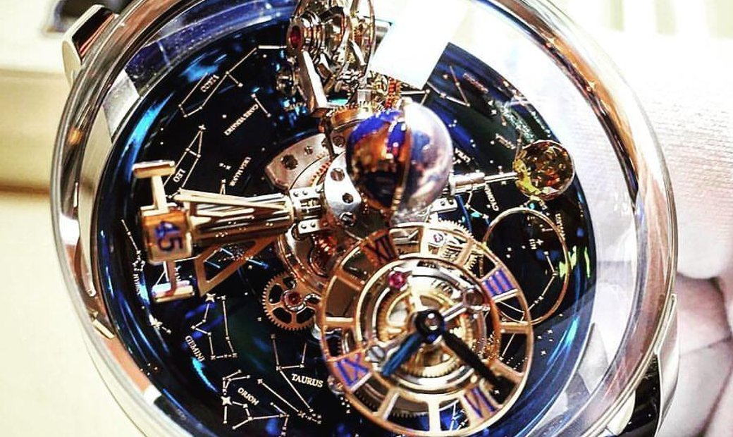 Jacob & Co. 捷克豹 NEW Astronomia Sky RG AT110.40.AA.AA.A (Retail:HK$5,104,000)