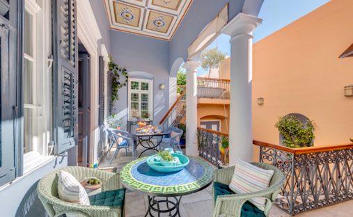 House in Ermoupoli, Greece