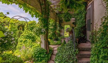 French Manor With Long Views & Washington Acreage