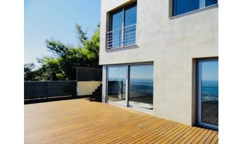 Very modern villa with panoramic sea views in Platja D'Aro with infinity pool, incredible price!