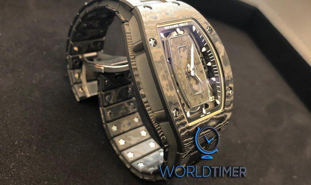 Richard Mille NEW RM 07-01 NTPT Carbon Closed Bracelet Automatic Ladies Watch
