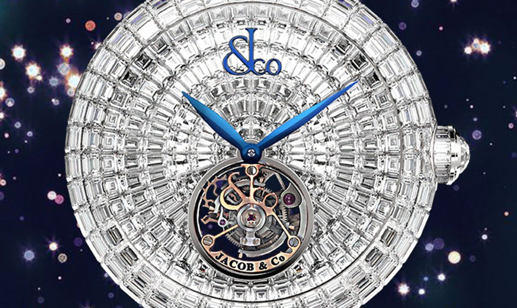 Jacob & Co. 捷克豹 Brilliant Flying Tourbillon White Diamonds BT543.30.BD.BD.B (Retail:HK$6,395,200)