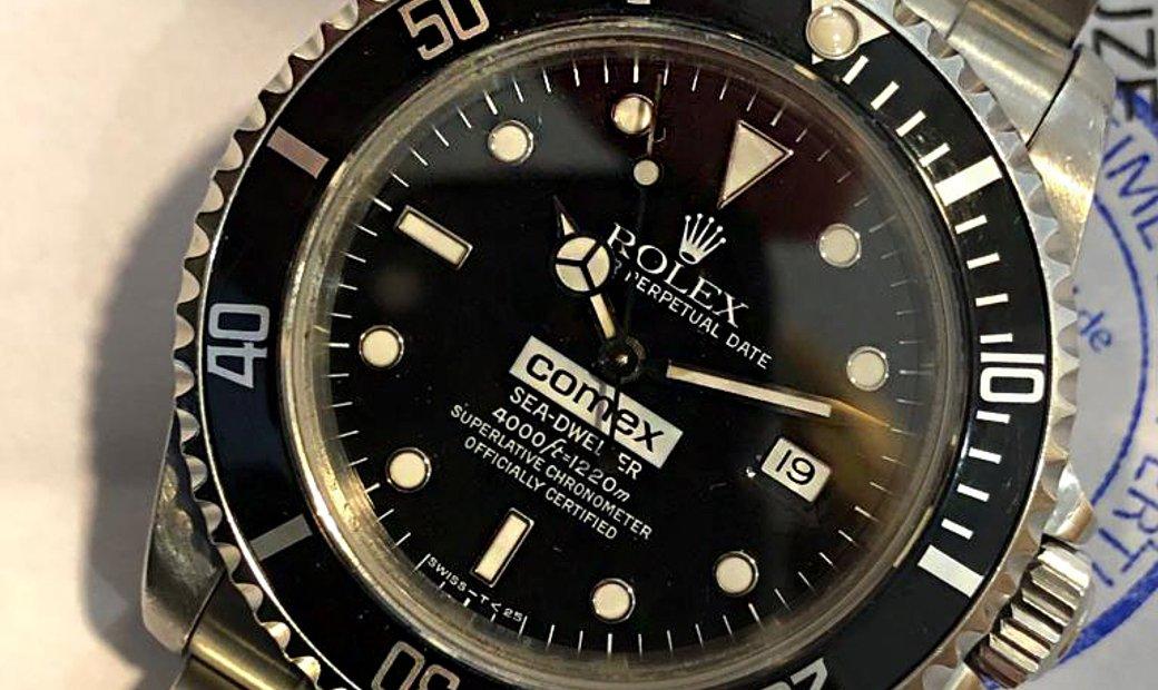 Rolex [1992 USED] Sea-Dweller 16600 COMEX with Original COMEX Paper