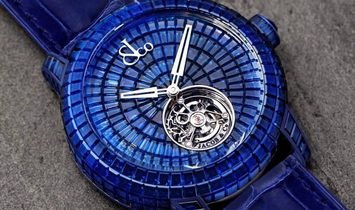 Jacob & Co. 捷克豹 [NEW] Caviar Tourbillon 47mm CV201.30.BB.BB.A