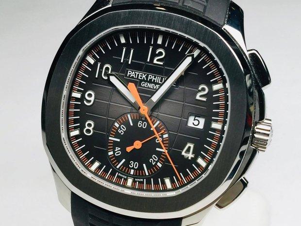 Patek Philippe NEW Aquanaut Chronograph 5968A Automatic Mens (10404592)