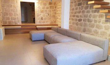 Kotor, Perast - Luxury seafront stone villa on the front sea line